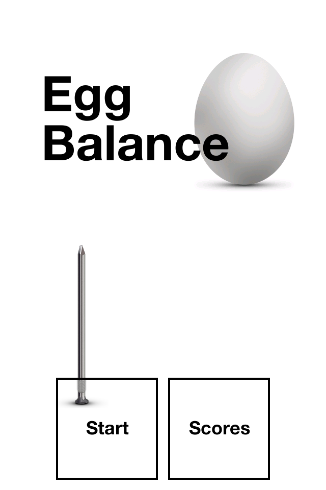 Screenshot Egg Balance